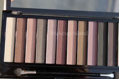 Makeup Revolution ROMANTIC SMOKED palette | foto & swatches