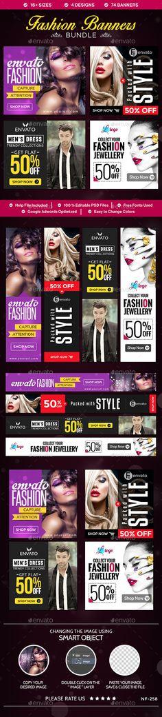 Fashion Banners Bundle - 4 Sets Download: http://graphicriver.net/item/fashion-banners-bundle-4-sets/10496419?ref=ksioks