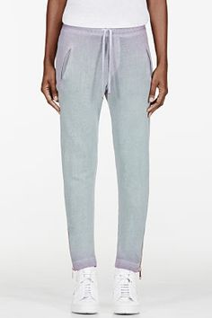 DIESEL Turquoise Faded Ombre Lounge Pants