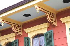 Folk victorian victorian interiors and architectural New orleans paint colors