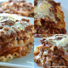 This Classic Lasagna recipe with cottage cheese makes a delicious weeknight dinner meal and is impressive enough to serve for a dinner party with guests.