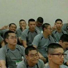 Ji Chang Wook...la primera foto en su entrenamiento, en el servicio militar