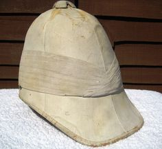 a07b7a6434a30 28 LXI Militaria UK – Headdress – Victorian   Boer   Zulu War Period British  Army Officers 1871 Pattern Foreign Service Pith Helmet.