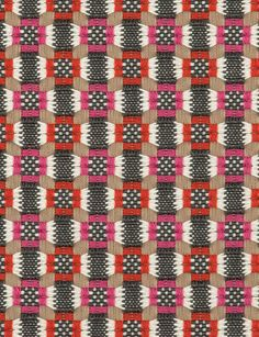 Pollack Fabrics - Bundles of Joy jubilee Weaving Textiles, Weaving Patterns, Textile Patterns, Print Patterns, Loom Weaving, Hand Weaving, Notes Design, Fabulous Fabrics, Weaving Techniques