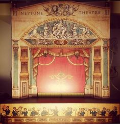 Image result for curtain toy theatre