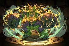 Hulk-like armoured