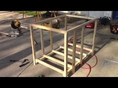 How to build a doghouse using lightweight framing (part 1) - YouTube