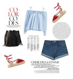 """""""Untitled #268"""" by laurach81 on Polyvore featuring Zara, Sandy Liang, Soludos, Whistles and La Femme"""