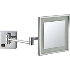 Smile 840 battery operated wall mounted magnifying mirror 5x from makeup mirror nameeks ar7701 square wall mounted led makeup mirror ar7701 aloadofball Choice Image