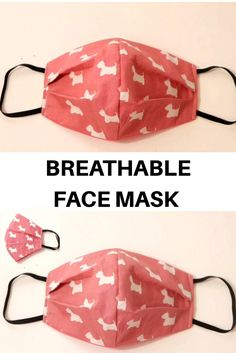 Small Sewing Projects, Sewing Hacks, Sewing Tutorials, Sewing Crafts, Dress Tutorials, Diy Projects, Sewing Lessons, Easy Face Masks, Diy Face Mask