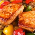 Asian-Style Pan-Glazed Salmon