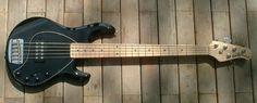 Music Man Stingray Black 5 string