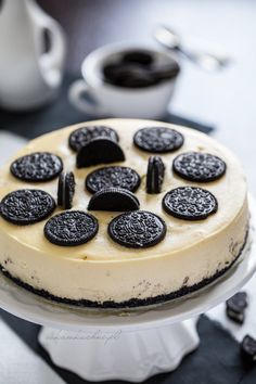 Oreo, Sweet Tooth, Cheesecake, Desserts, Food, Fotografia, Tailgate Desserts, Deserts, Cheese Pies