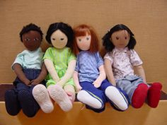 A PDF guide to using persona dolls effectively to help children embrace diversity, social justice and equity.