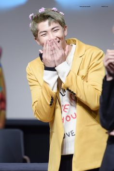 Rap Monster ❤ BTS at the Mokdong Fansign #BTS #방탄소년단