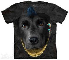 Bad Attitude Black Lab T-Shirt - Clearance 3d T Shirts, Cheap Shirts, Big Face, Mountain Dogs, Shirt Sale, Spirit Animal, Attitude, Lab, Animals