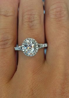 Verragio Couture Oval Halo