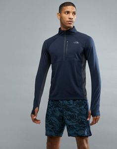 The North Face Mountain Athletics Impulse 1/4 Zip Top in Navy