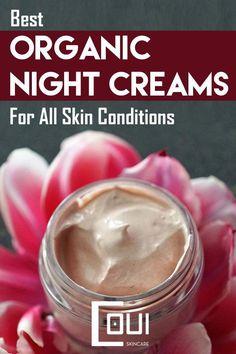 Best Organic Night Cream For All Skin Conditions #NaturalBodyScrub Best Night Cream, Anti Aging Night Cream, Cream For Oily Skin, Skin Cream, Natural Body Scrub, Anti Aging Moisturizer, Diy Skin Care, Conditioner, Organic