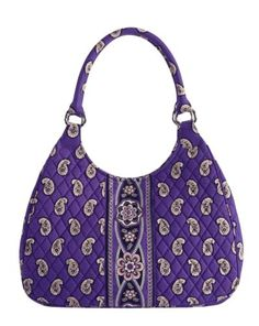 Vera Bradley Large Hobo in Simply Violet