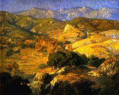 The Athenaeum - Landscape (Franz Bischoff - )