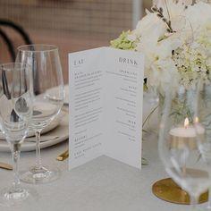Wedding Stationery Trends, Wedding Invitations, Wedding Menu, Wedding Table, Company Signage, Menu Printing, Wine And Beer, Sparkling Wine, Food Menu