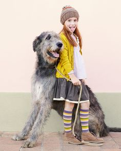 Collezione Kid and Tween autunno 2012 - Look 01. such a big dog!