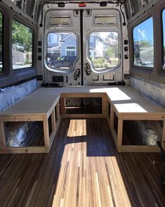 Beyond stoked on the progress made today. Feelin' more and more like a mini home. Cannot wait to hit the road with my fam crew. Van Conversion Interior, Camper Van Conversion Diy, Camper Life, Diy Camper, Vauxhall Vivaro Camper, Van Life Blog, Kombi Motorhome, Cargo Trailer Conversion, Vw Lt