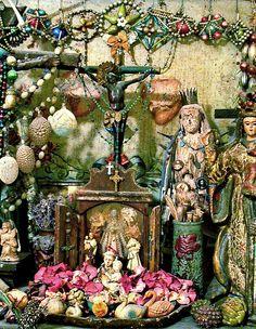 "Laurie Zuckerman ""Green Altar"" Installation | Flickr - Photo Sharing!"