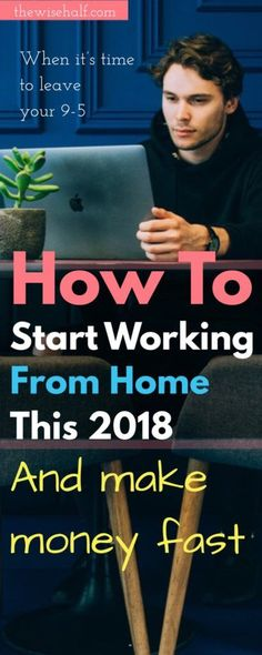 Clueless where to start? How to begin working from home? Here's your step by step guide to finally making money at the comfort of your own home. work-from-home-guide, #howtomakemoney #workathome side hustles, part time jobs from home