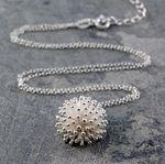 Halskette Dandelion Silber