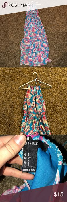 Floral dress Great condition! Size small Forever 21 Dresses Maxi