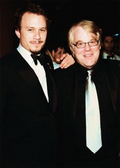 Heath Ledger & Philip Seymour Hoffman - what an incredible year that was.   This tears me up.