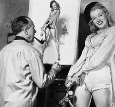 Marilyn_Monroe_Earl_Moran (2)