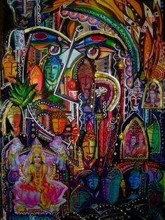 Buddha Art | filed under buddhist art and tagged buddha buddhist art collage guru ...