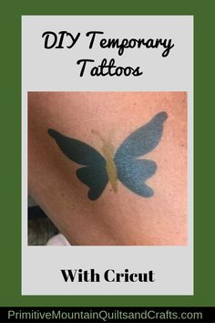 Come on and I'll show you how to make DIY temporary tattoos with Cricut. Fun for kids and adults! Easy to make with a cricut machine and printer. Sternum Tattoo, Diy Tattoo, Real Tattoo, Tattoo Pain, Ankle Tattoo Small, Ankle Tattoos, Tattoos For Kids, Small Tattoos, White Tattoos