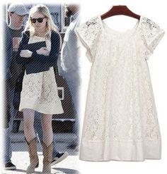 yazlık dantel elbise