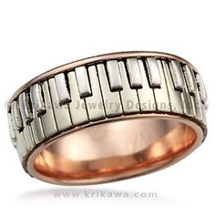 Piano Ring - This ring is perfect for the music lover or pianist in your life.