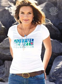 Mariska Hargitay founded the Joyful Heart Foundation to help women and families overcome violence and sexual abuse