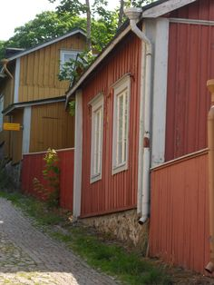 old streets Old Street, Built In Storage, Finland, Garage Doors, Shed, Outdoor Structures, Building, Outdoor Decor, Home