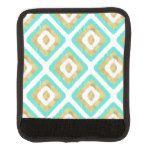 Gold & Turquoise Chic Ikat Pattern Handle Wrap #weddinginspiration #wedding #weddinginvitions #weddingideas #bride