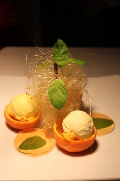 Watermelon & Honeydew Sorbets With Lemongrass Sauce Recipe ...