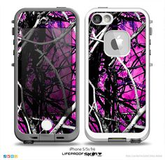 The Hot Pink Abstract Real Camouflage Skin For The iPhone or Camo Phone Cases, Ipod 5 Cases, Iphone 5c Cases, Iphone 7, Apple Iphone, Iphone Charger, Camouflage, Muddy Girl Camo, Cool Cases