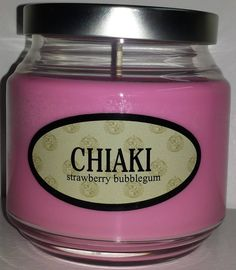Chiaki Nanami inspired candle from the game Super Danganronpa 2.