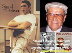 """""""GANAS=DESIRE"""": REMEMBERING JAIME ESCALANTE - """"IF YOU EXPECT CHILDREN TO BE LOSERS THEY WILL BE LOSERS BUT IF YOU EXPECT THEM TO BE WINNERS THEY WILL BE WINNERS"""""""