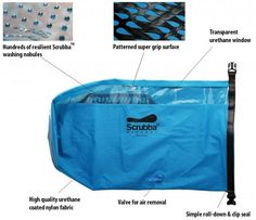 Scrubba Wash Bag Parts