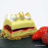 La tarte au citron originale ou Finger lime de Christophe Roussel
