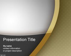 Regency PowerPoint template is a nice looking template and professional background for PowerPoint presentations that you can download to decorate your slides
