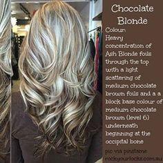 chocolate blonde hair - Google Search