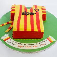 Sports Team Jersey : Galatasaray Uniform Birthday Cake